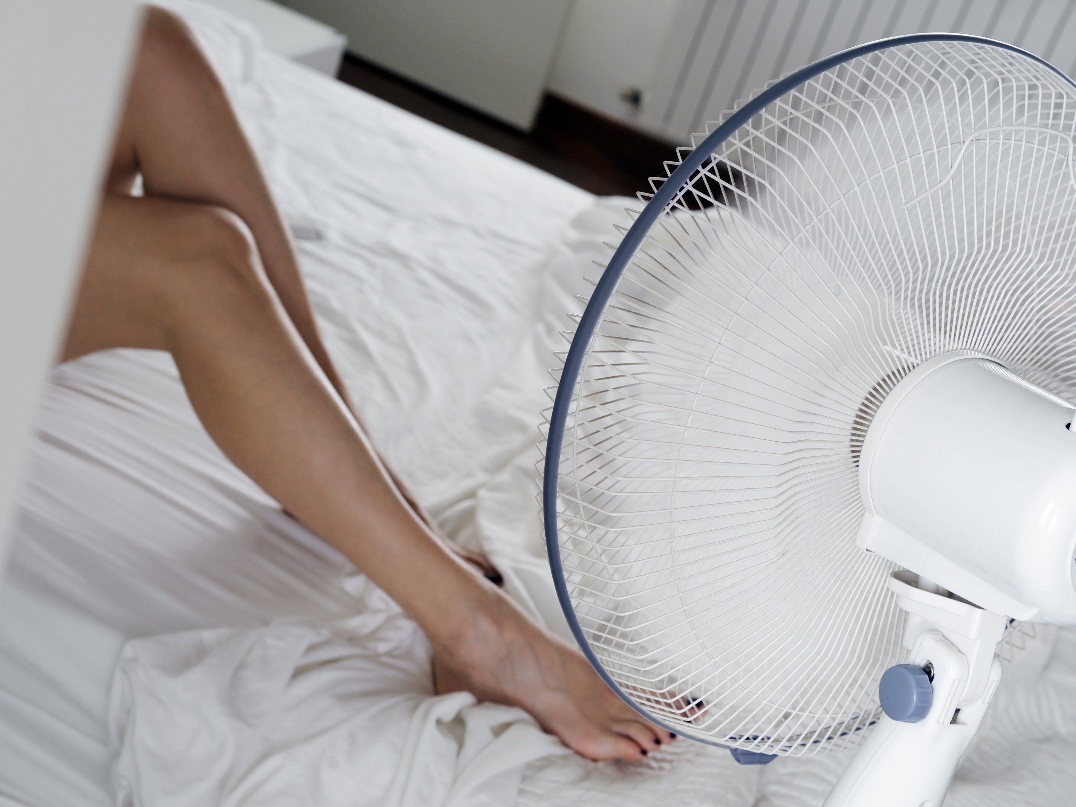 3. Keep your bedroom cool.