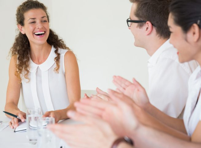 How to Laugh at Your Boss's Jokes