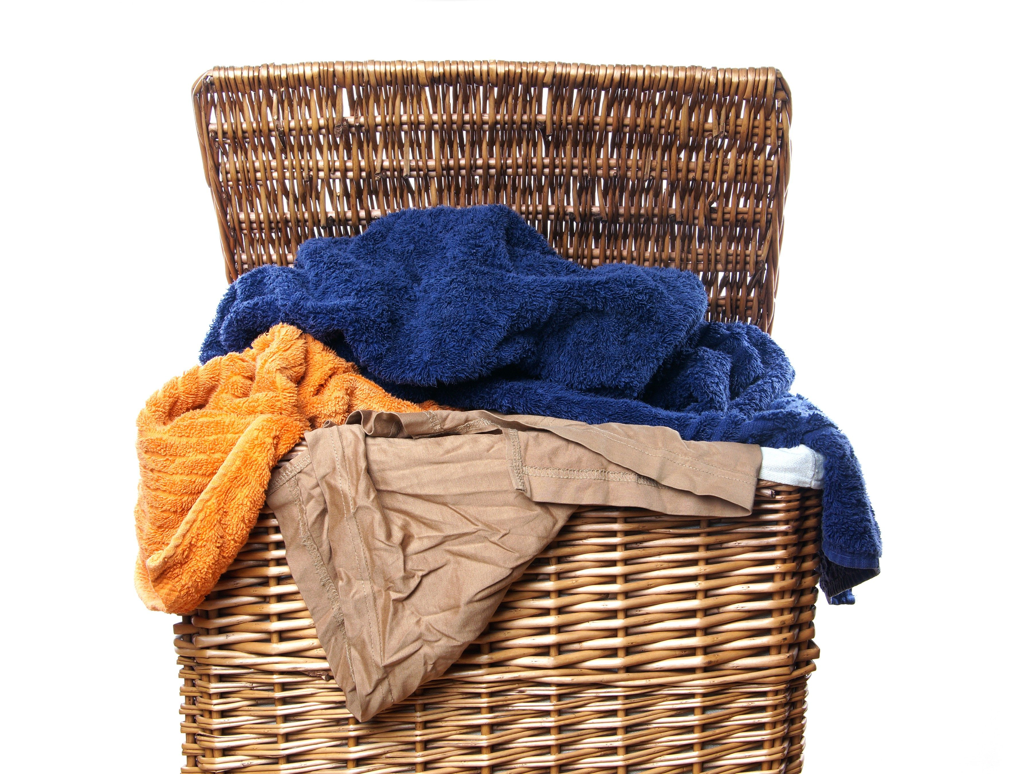 6. Freshen a Laundry Hamper
