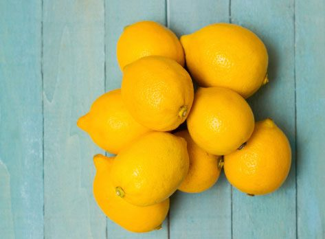 Healthy energy drink alternative: Lemon water