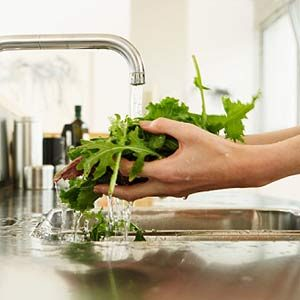 3. Clean Fresh Vegetables
