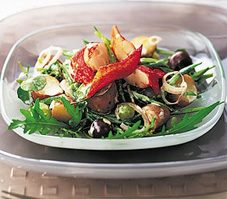 Lobster Salad with Lime Dressing