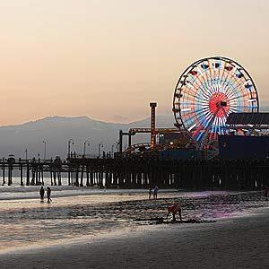 2. Santa Monica Beach, California
