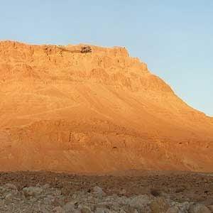 6. Hike to the top of Masada