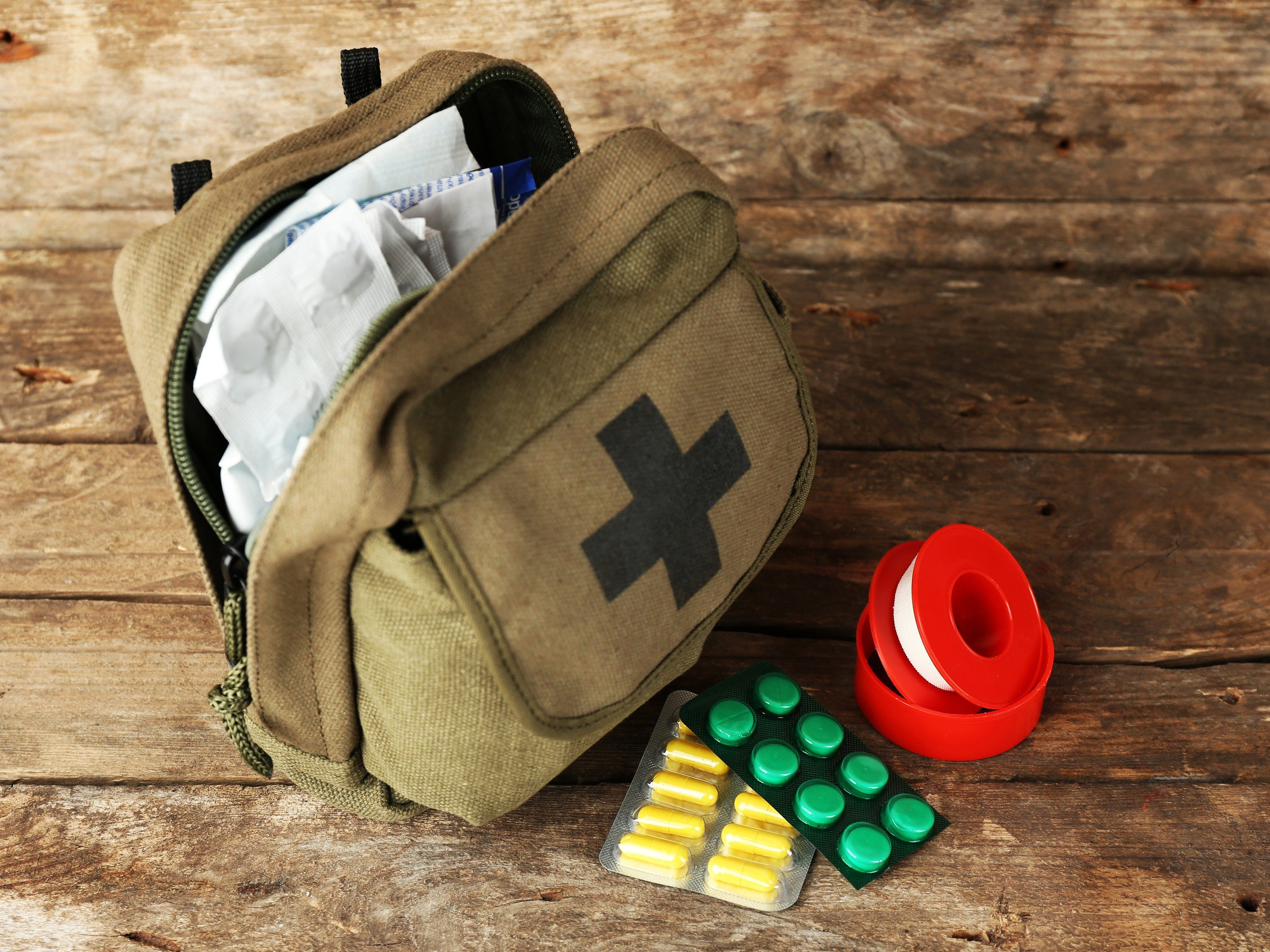 Useful medication for first-aid kits