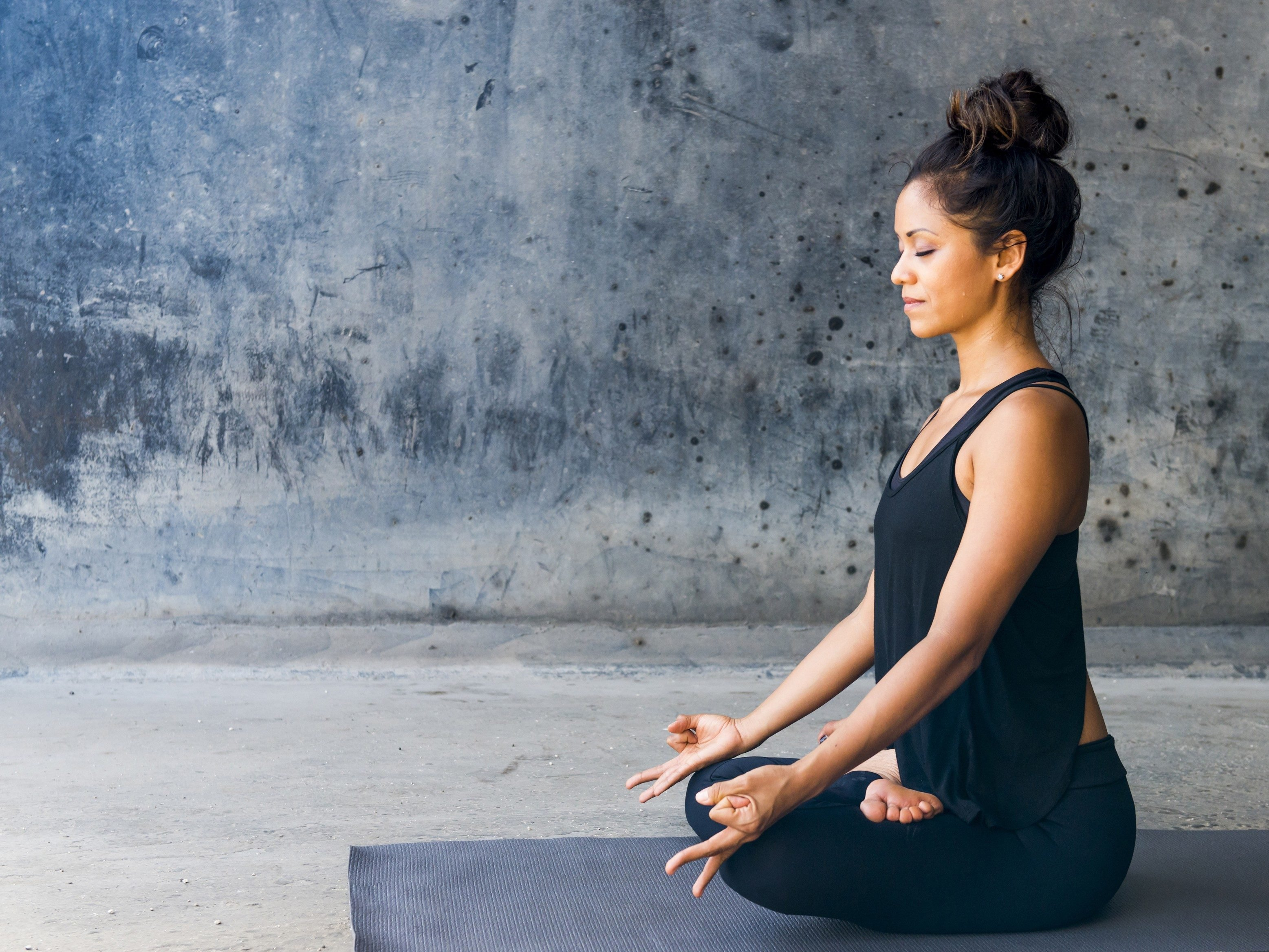 16. Meditation is a proven stress-buster.