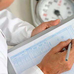 Myth 2: I'll find my ideal weight on a standard height and weight chart.