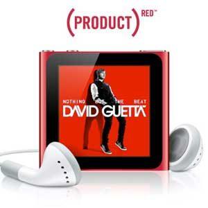 4. iPod Nano (Product) Red