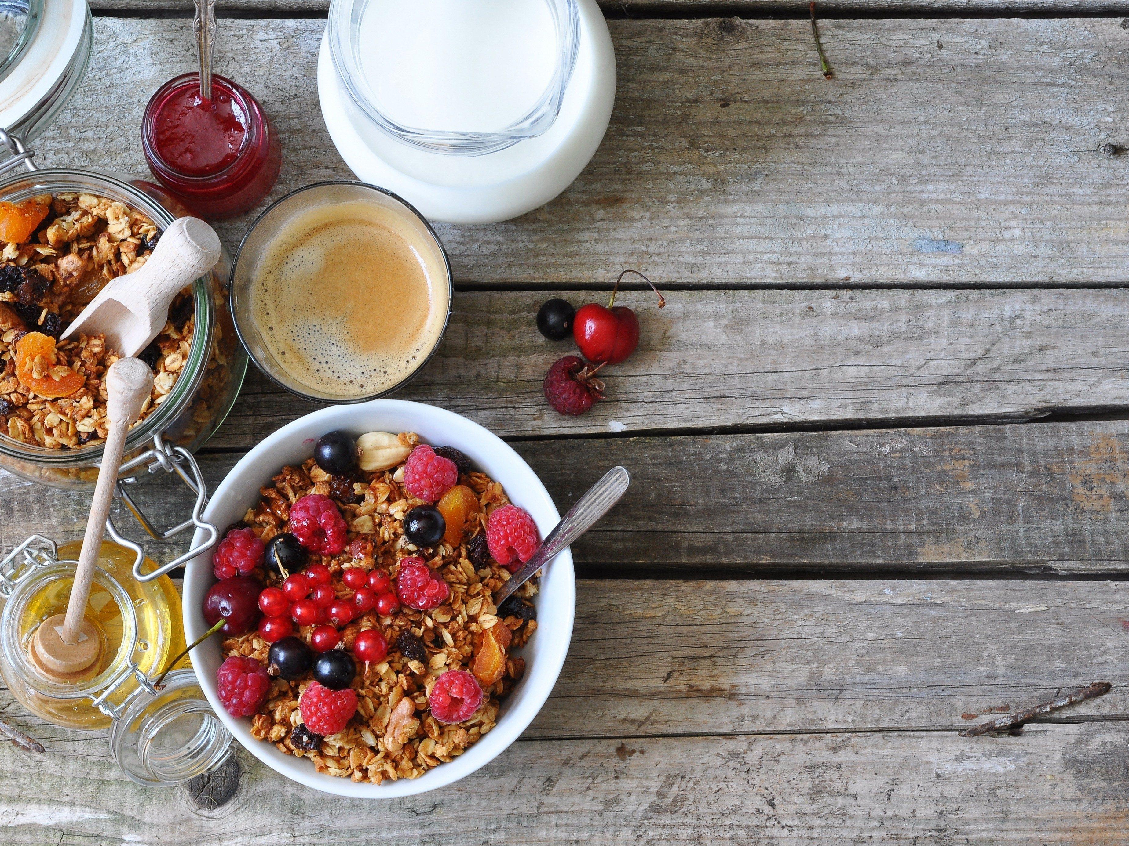 2. Never skip breakfast