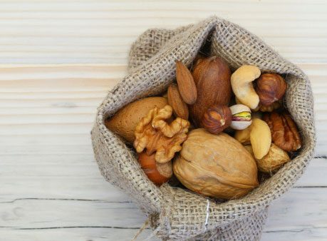 Healthy energy drink alternative: Nuts
