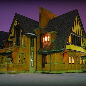 10. Frank Lloyd Wright's Oak Park