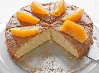Scarlet's Orange Cake