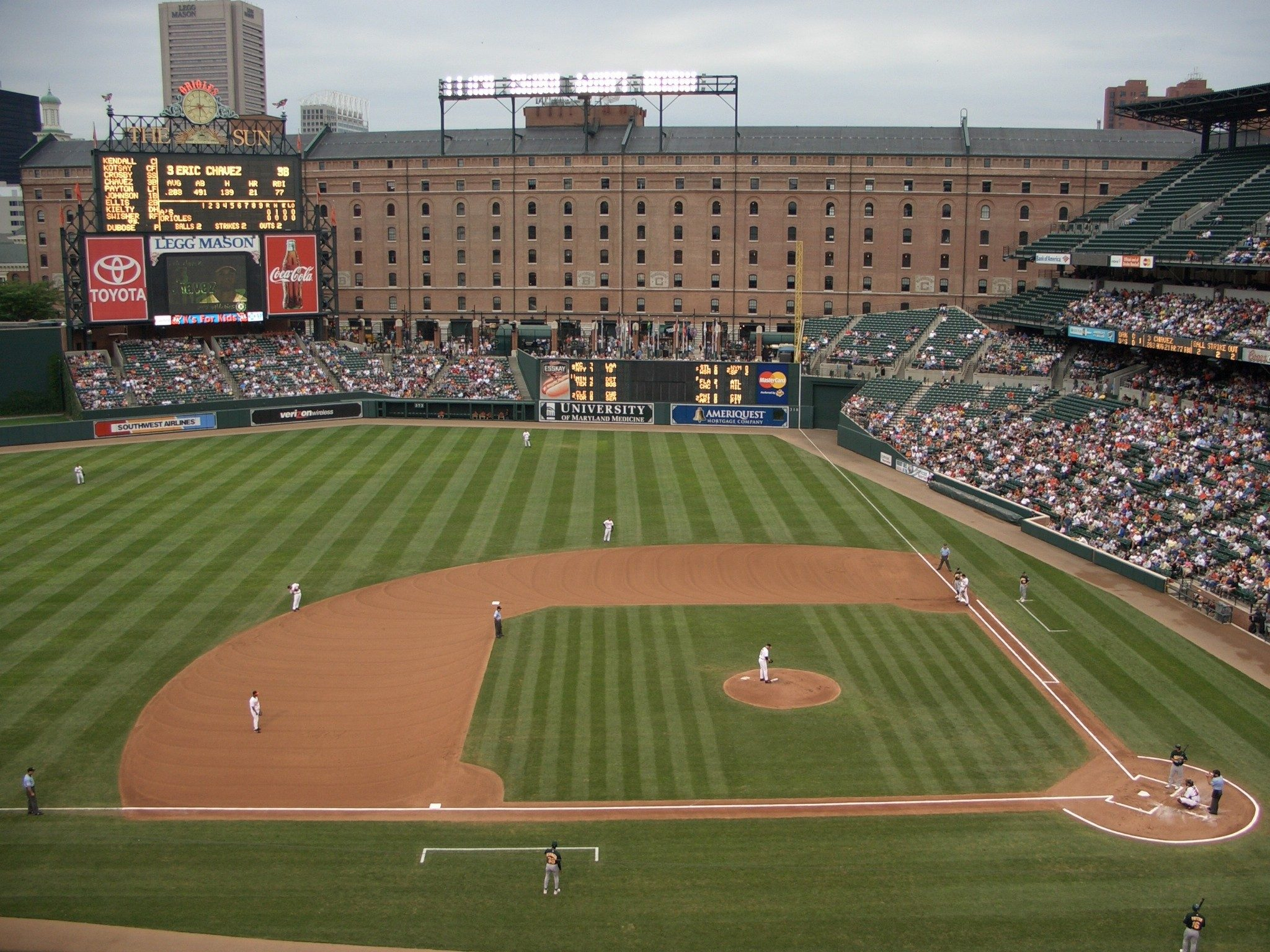 5. Oriole Park at Camden Yards - Baltimore, Maryland; home of the Orioles.