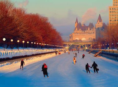 The Rideau Canal - Ottawa, Canada