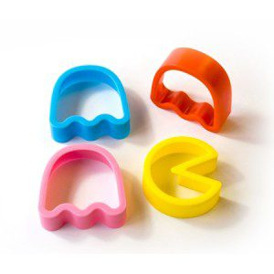 4. Pac Man Cookie Cutters