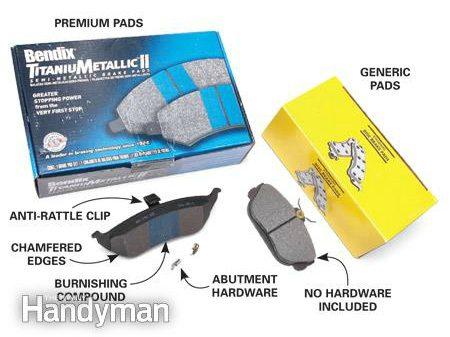 Brake Job Rip-Off #2: Paying premium prices for generic pads