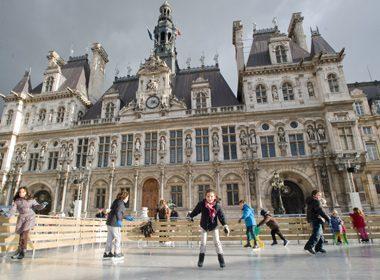 Patinoire de L'Hôtel de Ville - Paris, France