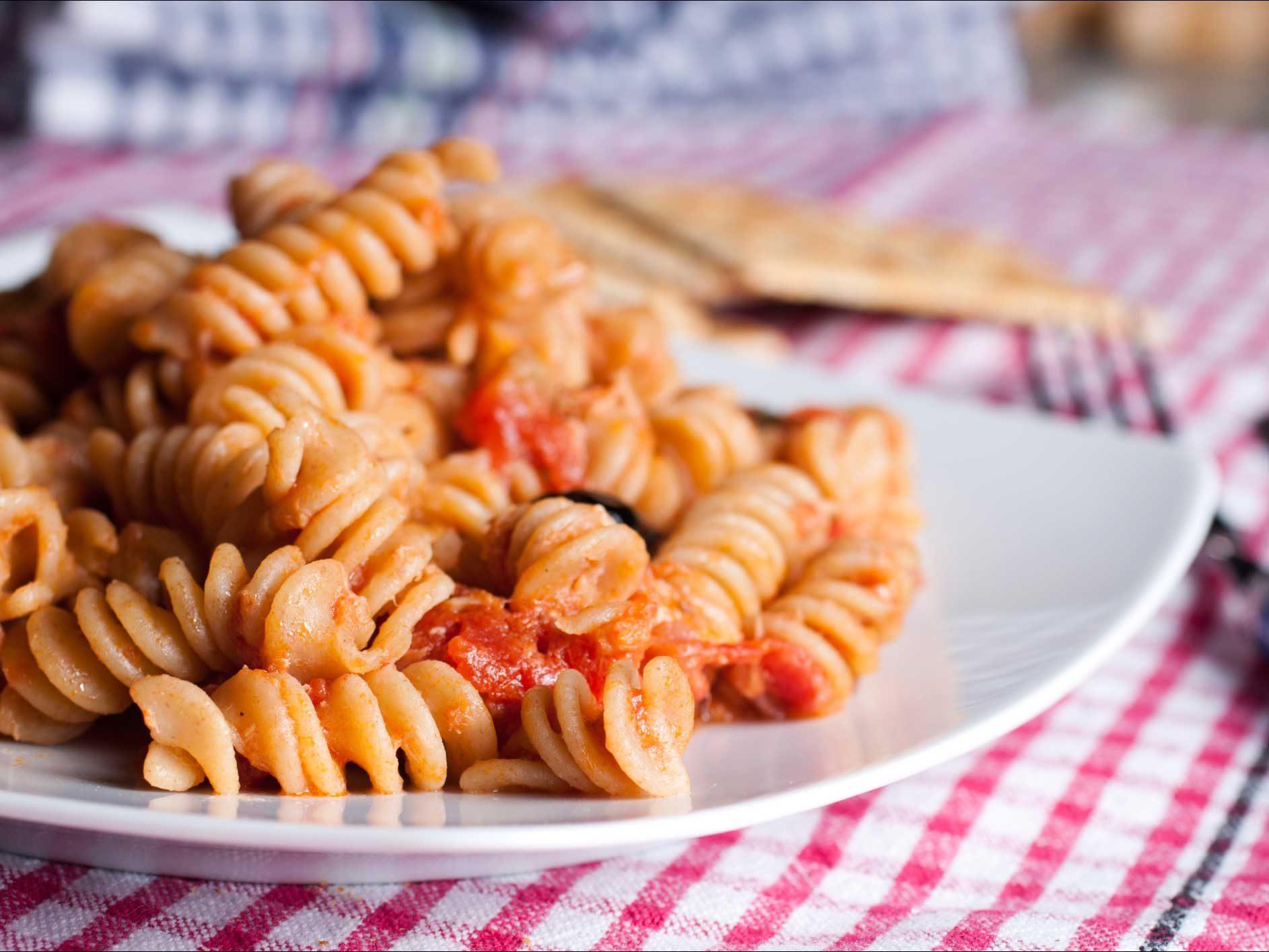 Pasta With Puttanesca Sauce