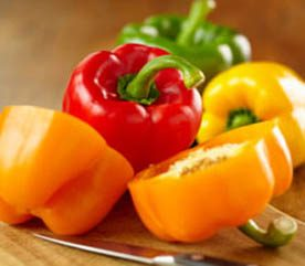 1. Sweet Peppers