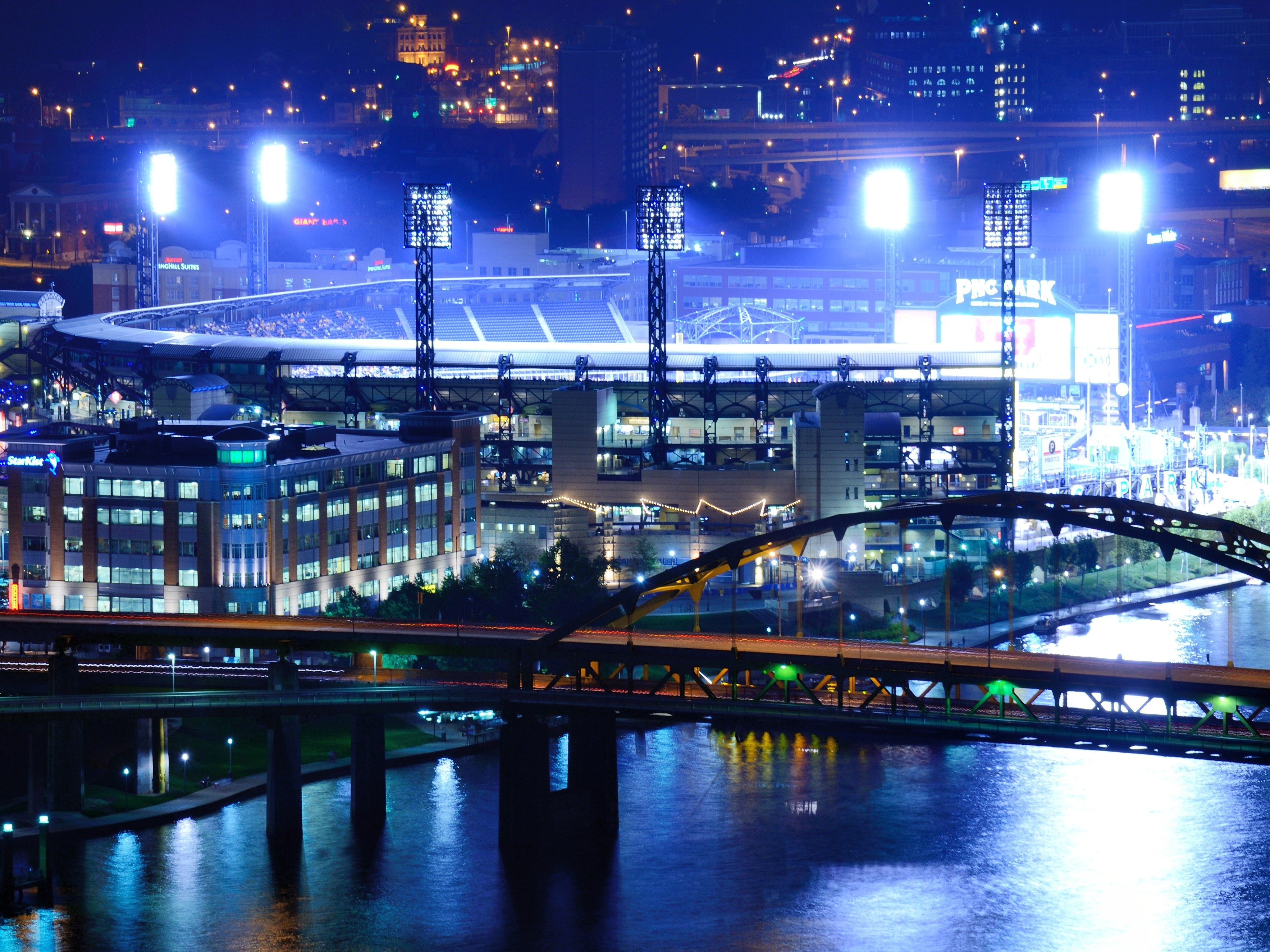 4. PNCPark - Pittsburgh, Pennsylvania; home of the Pirates.
