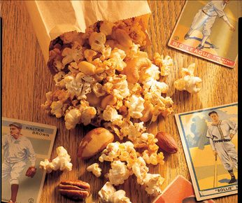 Eat-It-By-the-Handful Popcorn and Nut Mix