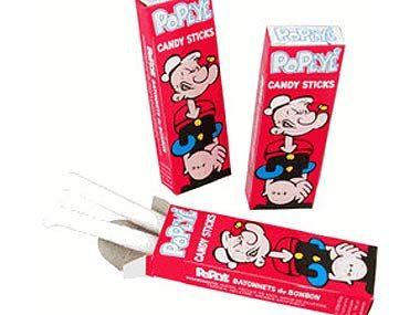 3. Popeye Candy Sticks