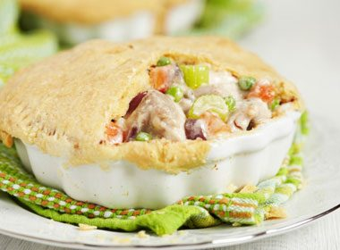 Chicken Pot Pie With Chunky Vegetables