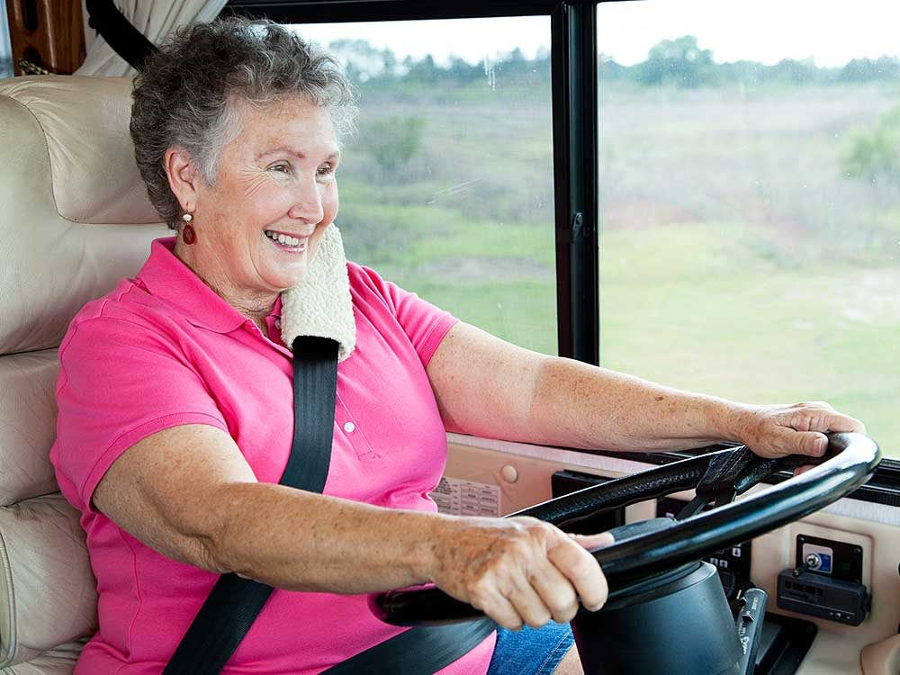 2. Practice driving the RV before you hit the road.
