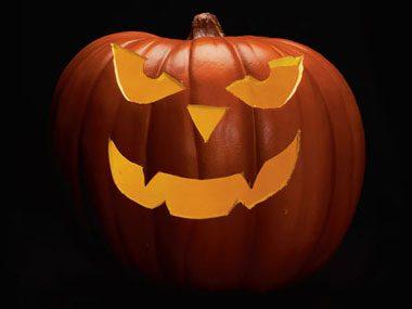 Pumpkin Pattern #9: Scary Face