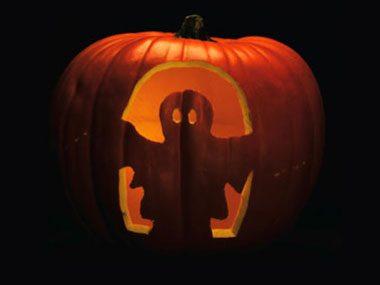 Pumpkin Pattern #16: Boo!