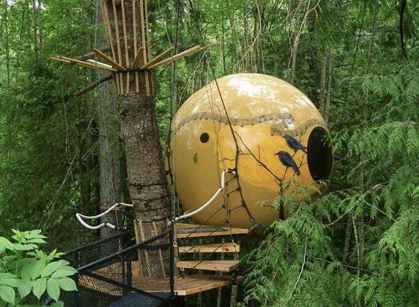 Free Spirit Spheres - Qualicum Beach, British Columbia
