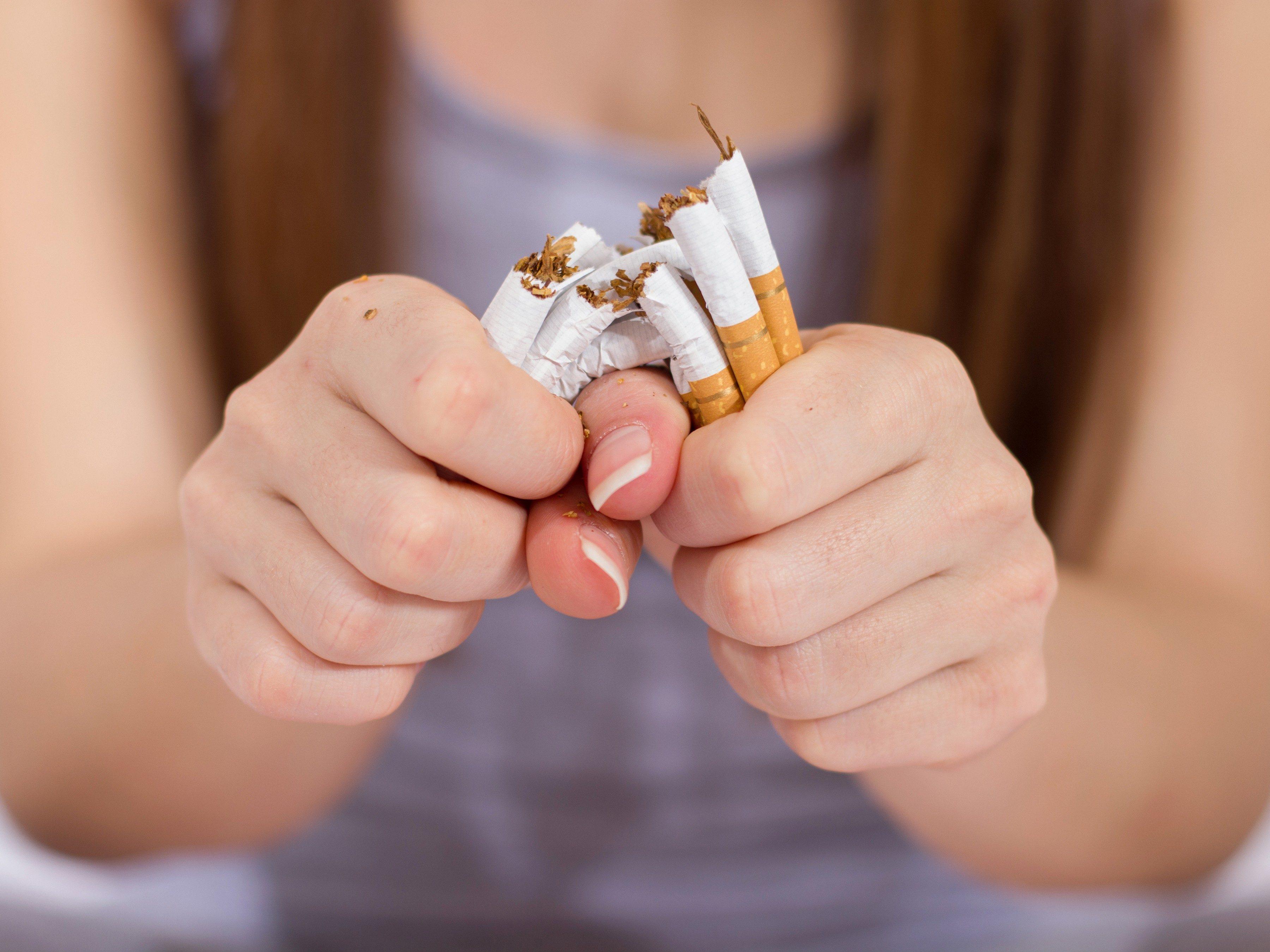 5. Stop smoking
