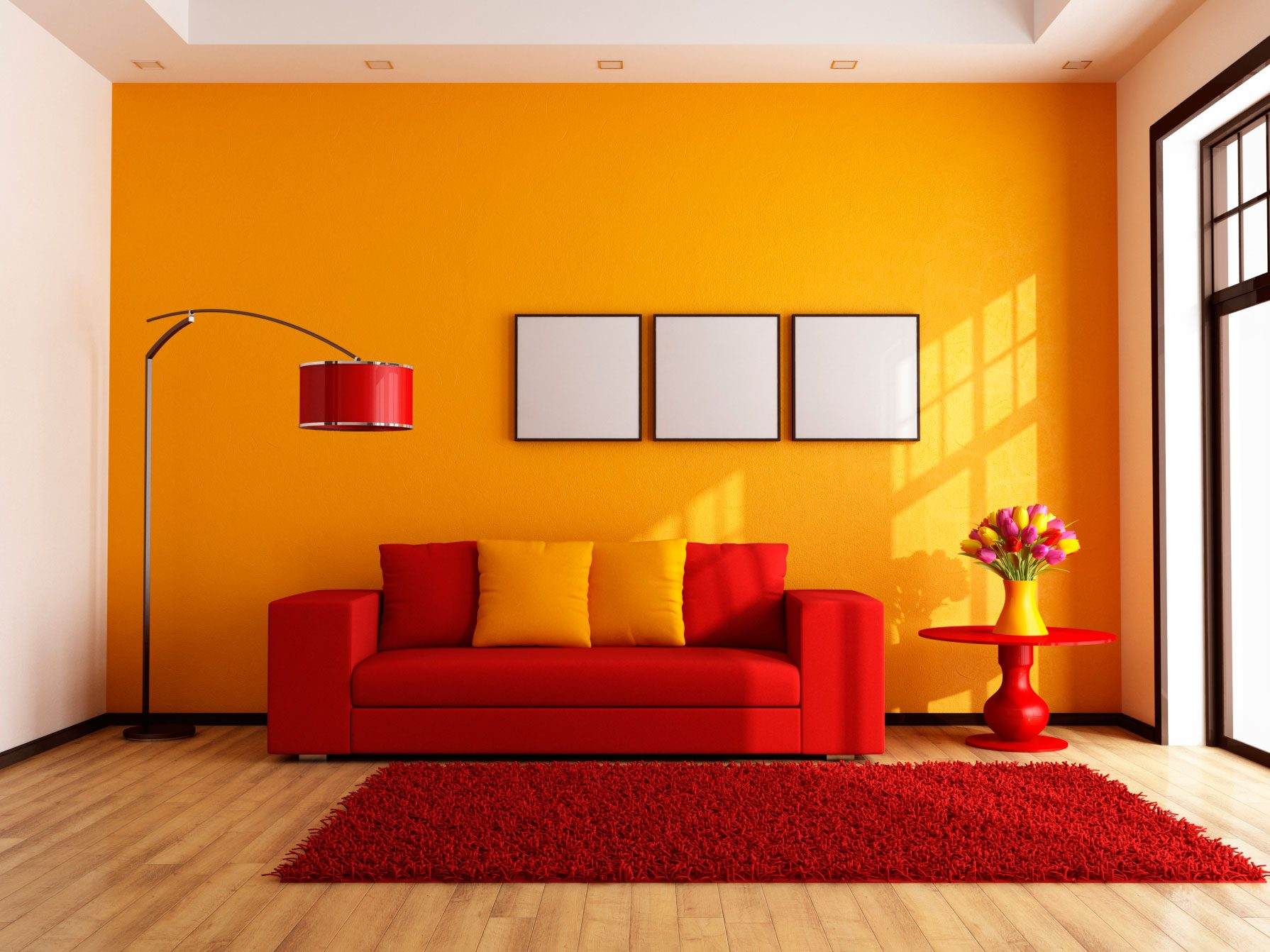 What Your House Colour Says About You: Warm Colours