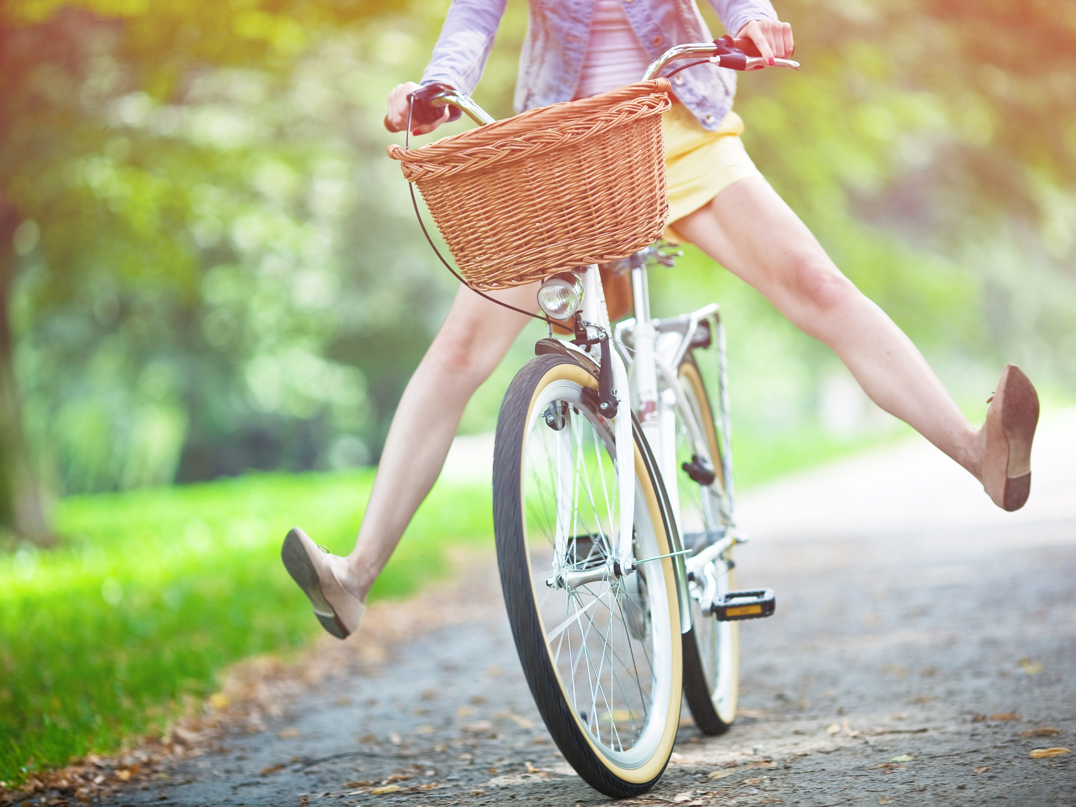 9. Cycling can be a powerful stress reliever.