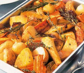 Roasted Root Vegetables with Herbs