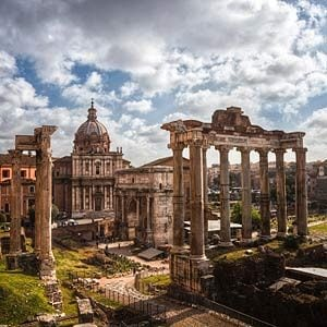 1. Roman Forum & Tower of the Winds