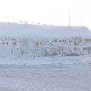 2. Coldest Inhabited Place on Earth: Oymyakon, Russia