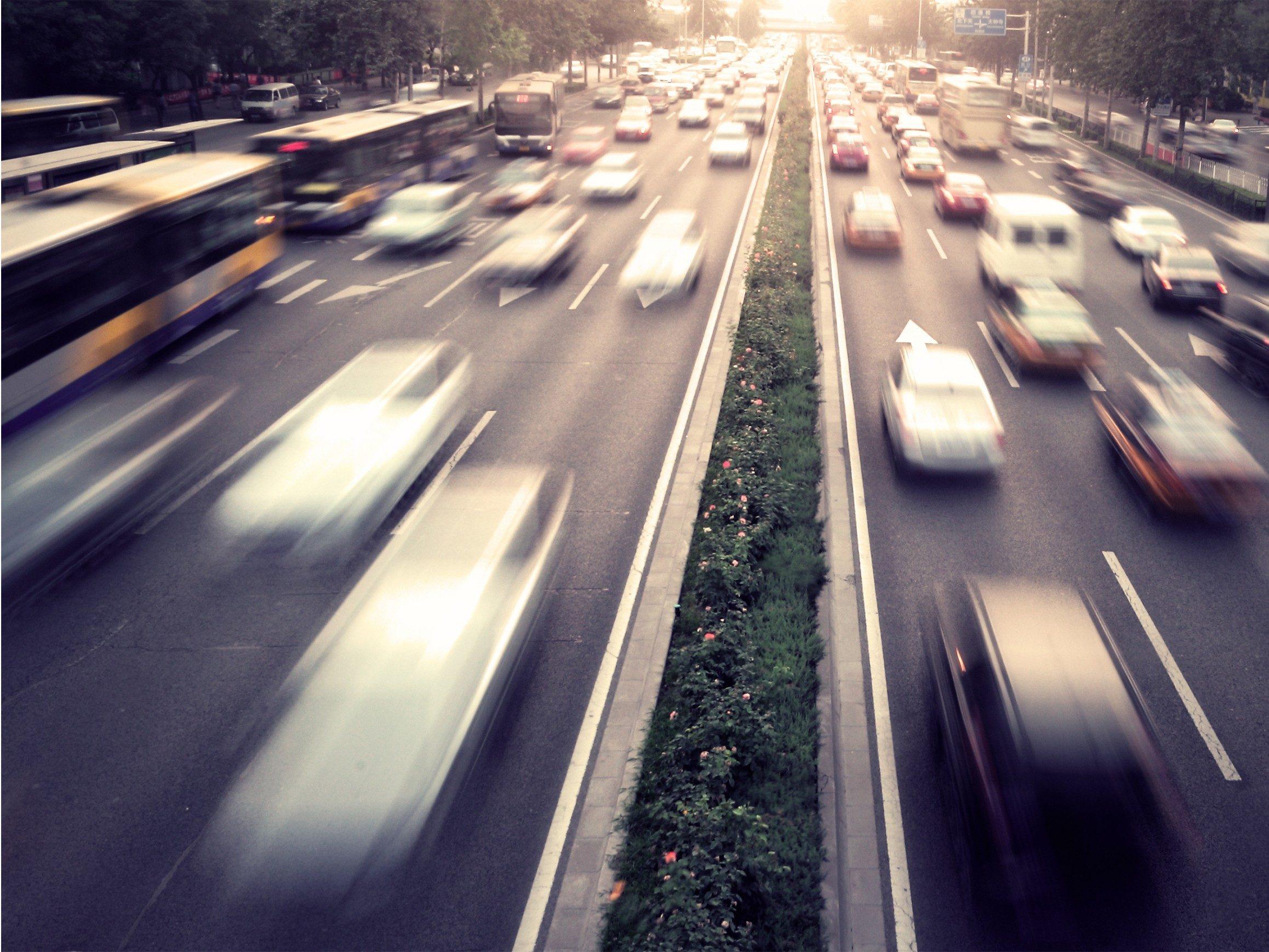 Driving tip #11: Leave room between cars.
