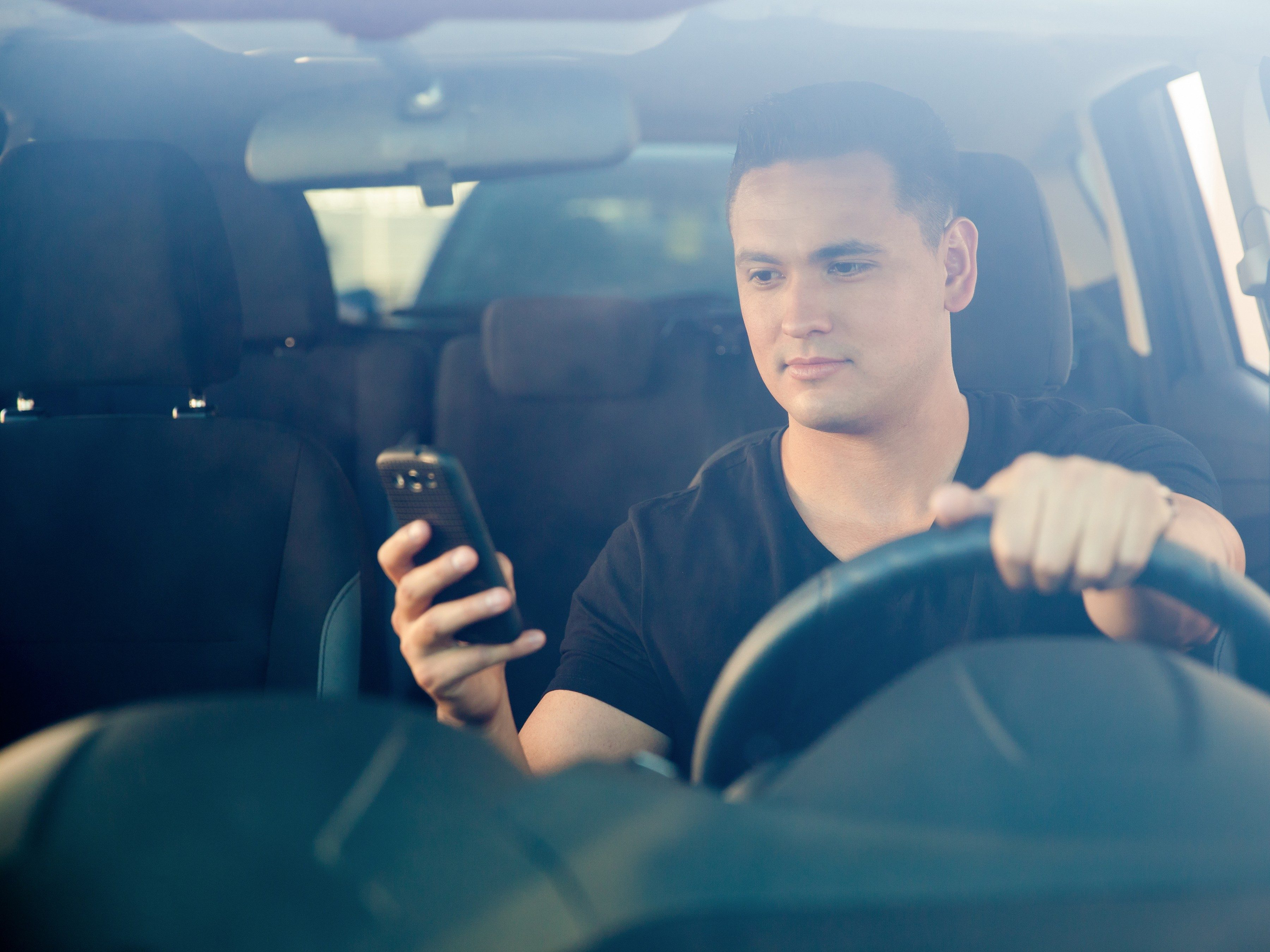 Driving tip #8: Put your phone out of sight.