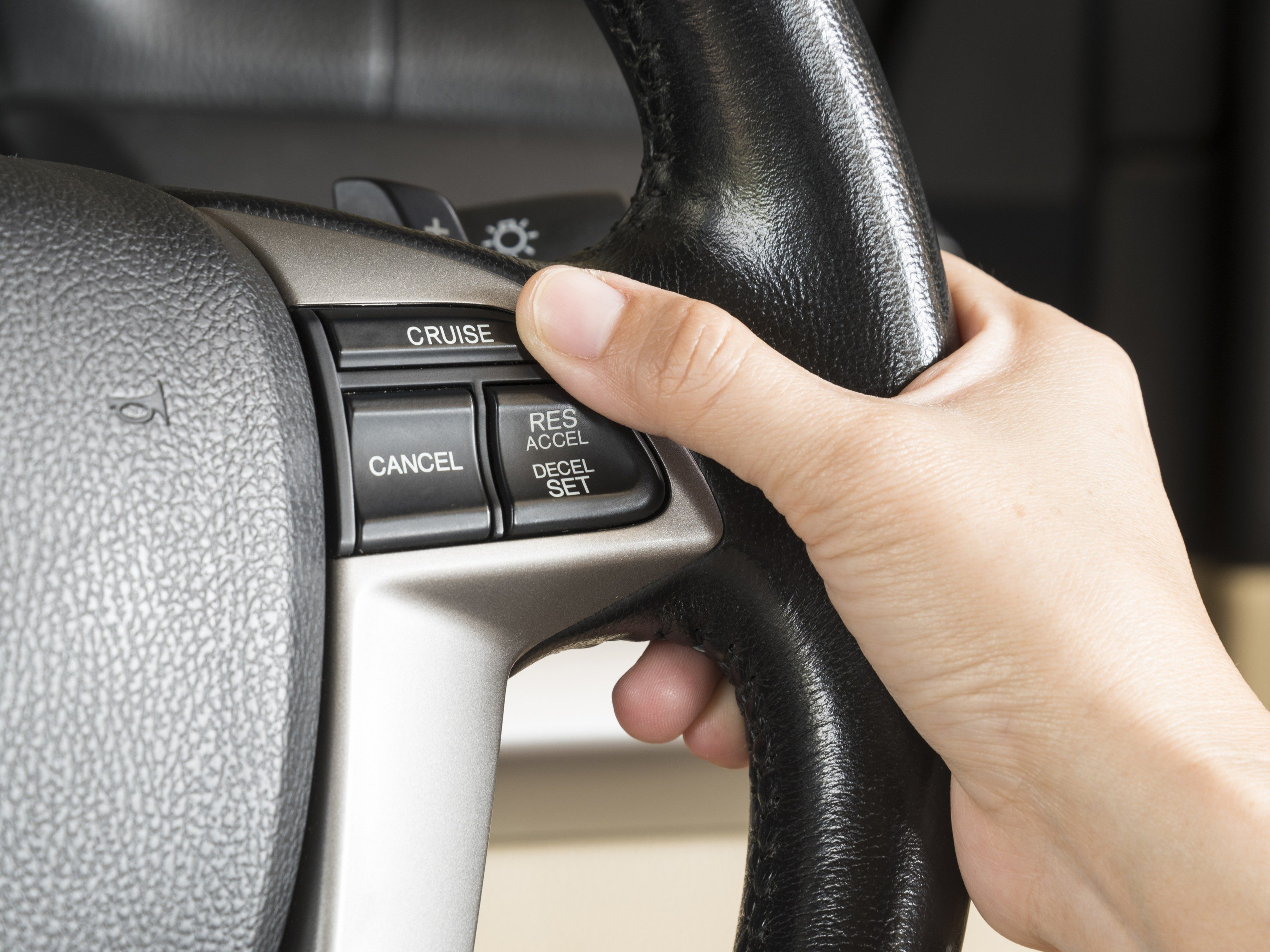 Driving tip #3: Use your car's cruise control to its full potential.