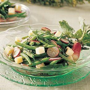 Green Beans Salad with Havarti