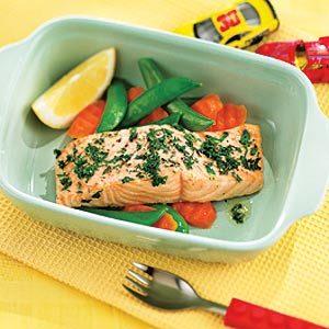2. Roast  Lemon Herb Salmon