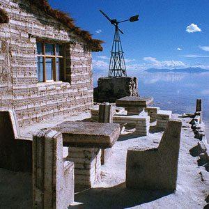 3. Salt Hotel, Bolivia