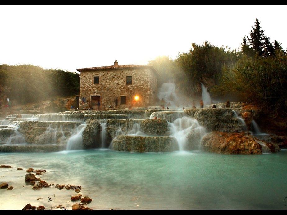 Natural Wonders to See Before You Die: Saturina Thermal Springs, Italy