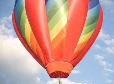 Places to Take a Selfie: Hot Air Balloon Ride