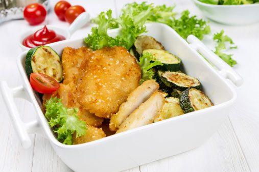 Warm Sesame Chicken Salad
