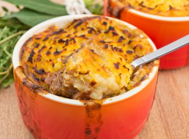 Shepherd's Pie With Sweet Potato Crust