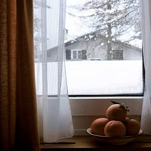 7. Leave the Windows Open a Crack in Winter