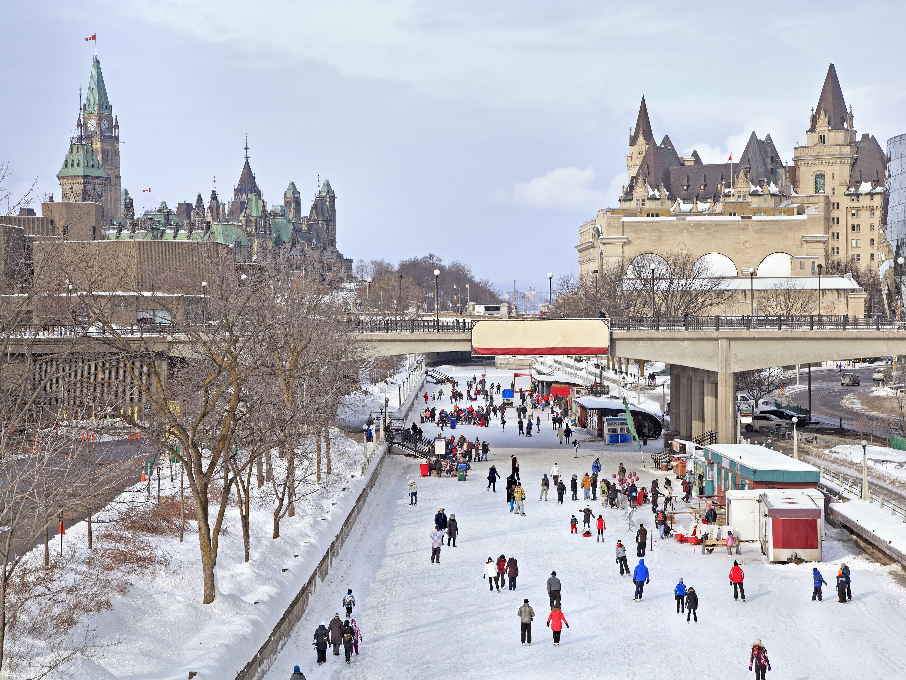 My Travels: Skating on Ottawa's Rideau Canal