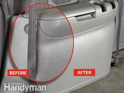 Reconditioning Your Car Interior: Before & After